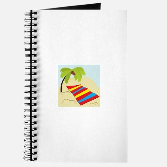 Beach Scene Journal