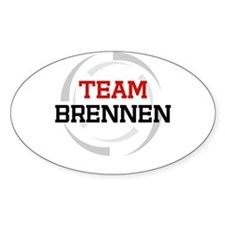 Brennen Oval Decal