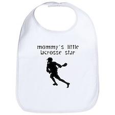 Mommys Little Lacrosse Star Bib