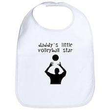 Daddys Little Volleyball Star Bib