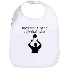 Mommys Little Volleyball Star Bib