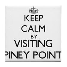 Cute Piney Tile Coaster