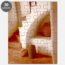 Sepia Southwest Steps Puzzle