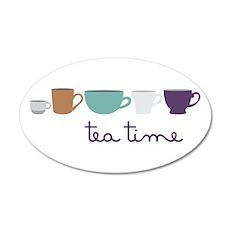 Tea Time Wall Decal