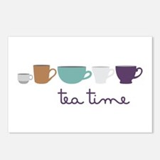 Tea Time Postcards (Package of 8)
