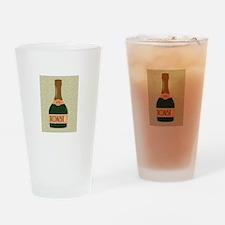 Toast It Drinking Glass