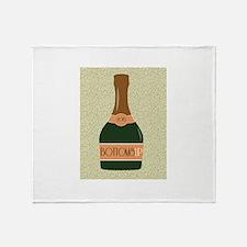 Bottoms Up Throw Blanket