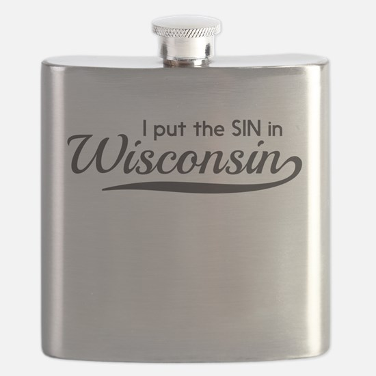 I put the SIN in Wisconsin Flask