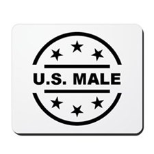 U.S. Male Mousepad