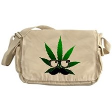 Cute Marijuana Messenger Bag