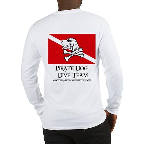 Pirate Dog Dive Team Long Sleeve T-Shirt