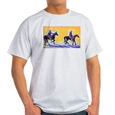 Sharyl Gates Slow Dancing Horses Art T-Shirt