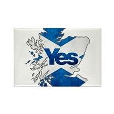Yes for Scotland Rectangle Magnet