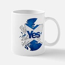 Yes for Scotland Mug