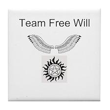Team free will design Tile Coaster