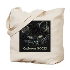 Catlovers ROCK! Tote Bag