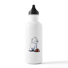 Tailgating Westie Water Bottle