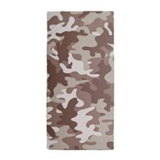 Camouflage desert Beach Towel