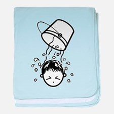 Funny Water boy baby blanket