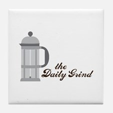The Daily Graind Tile Coaster