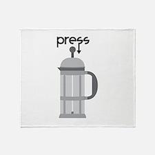 Press Throw Blanket