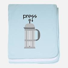 Press baby blanket