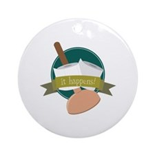 It Happens! Ornament (Round)