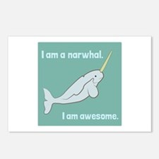 I Am A Narwhal Postcards (Package of 8)
