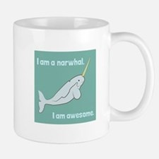 I Am A Narwhal Mugs