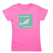 I Am A Narwhal Girl's Tee