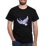 Heb. 'Brit B'li Milah'+dove-only Dark T-Shirt