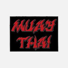 Muay Thai 5'x7'area Rug