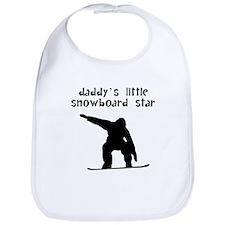 Daddys Little Snowboard Star Bib