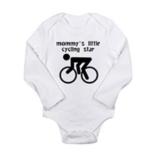 Mommys Little Cycling Star Body Suit