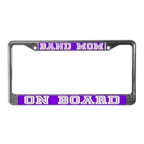 Band Mom License Plate Frame