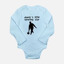 Daddys Little Bowling Star Body Suit