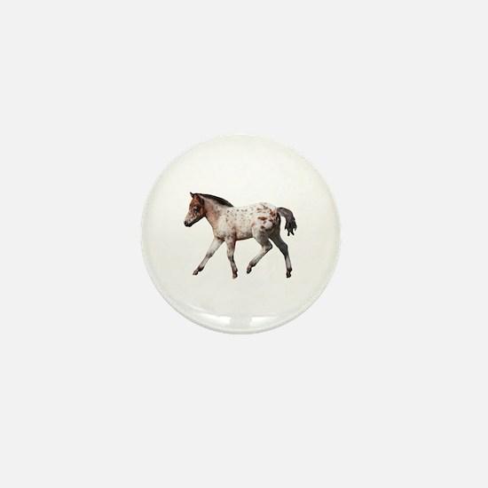 """""""Knabstrup foal 2"""" Mini Button"""
