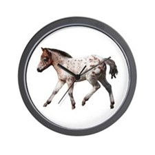 """Knabstrup foal 2"" Wall Clock"