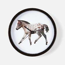 """""""Knabstrup foal 2"""" Wall Clock"""