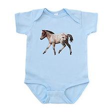 """""""Knabstrup foal 2"""" Infant Bodysuit"""