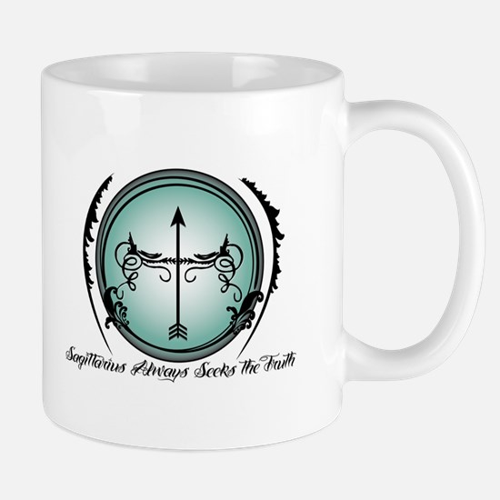 Sagittarius Always Seeks the Truth Mugs