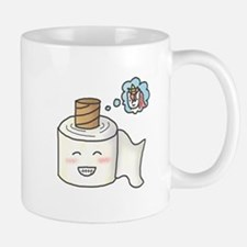 Toilet Paper Unicorn Dream Big Mugs