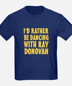 Dancing with Ray Donovan T