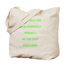 Short girls environmentally friendly Tote Bag