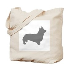 corgi gray 1C Tote Bag