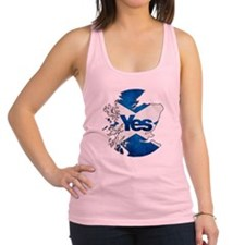Yes for Scotland Racerback Tank Top