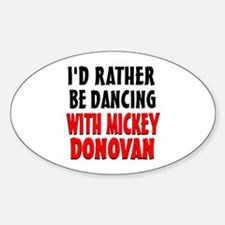 Dancing with Mickey Decal