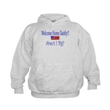 Unique Army baby for daddy Hoodie