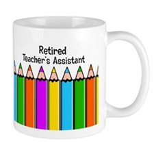 teachers assistant retired Mugs