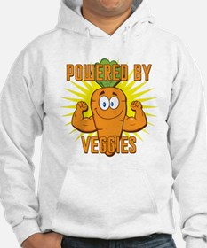 Powered by Veggies Hoodie